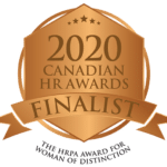 2020 Canadian HR Awards Finalist Badge